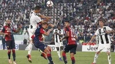 كريستيانو رونالدو من مباراة يوفنتوس ضد جنوى