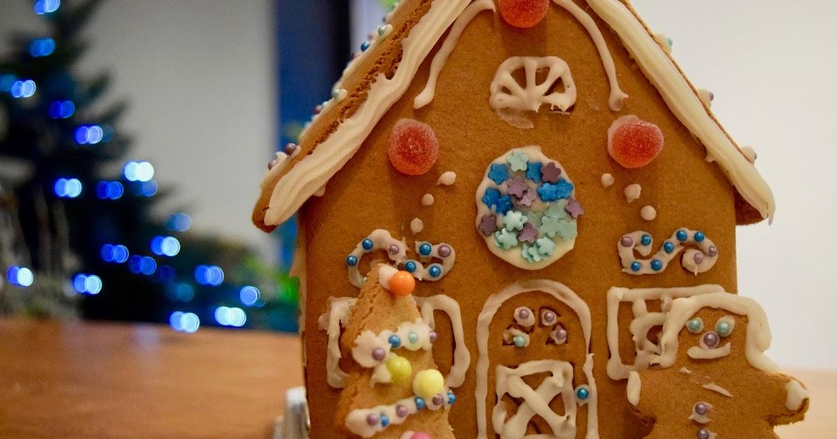 Gingerbread House Blogmas 13 Adele Louise Smith