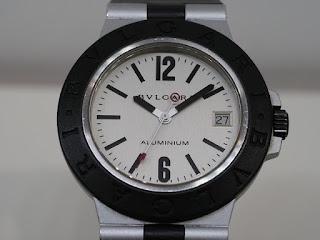 ブルガリ AL38 腕時計 アルミニウムをお買い取り致しました