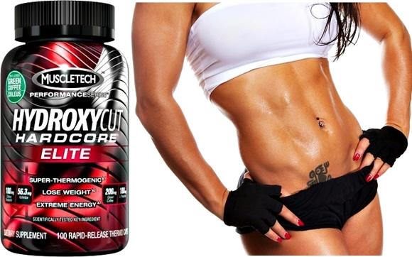 Hydroxycut Muscletech quemar grasa adelgazar mujer