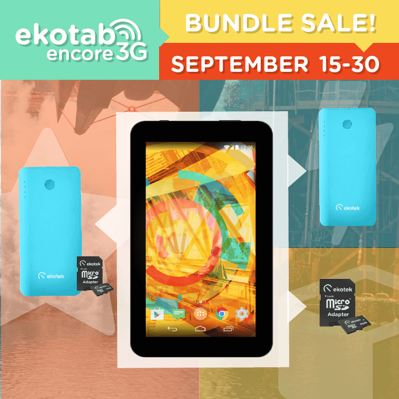 Get The Ekotek Ekotab Encore 3G For As Low As 3999 Pesos!
