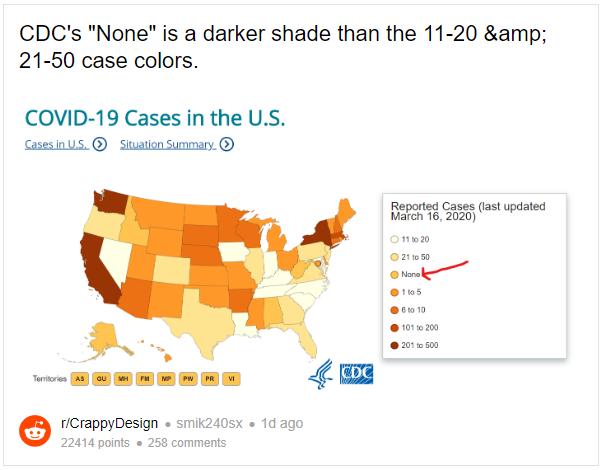 Static version of r/CrappyDesign CDC Coronavirus Map