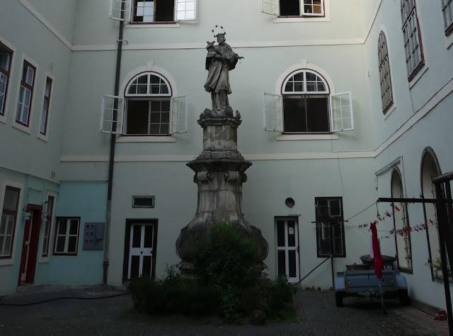 Sibiu - St. Nepomuk nahe der katholischen Pfarrkirche