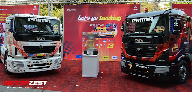 3rd Season Of The Tata Prima T1 Truck Championship