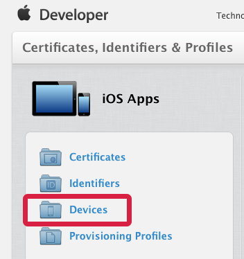 Apple Developer Member Center