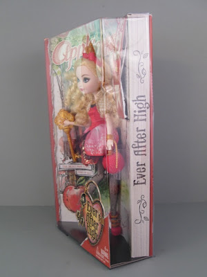 The Side Of Box Also Has A Page Design And Ever After High Drawn In Print That Actually Looks Like It Was Written Pencil Across Closed Book S