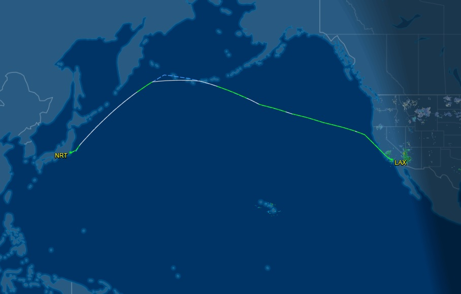 Flights Insider: To Tokyo with American [American Airlines] AA 169 ...