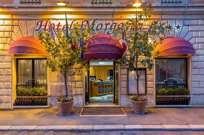 Hotel Morgana in Rome, Italy