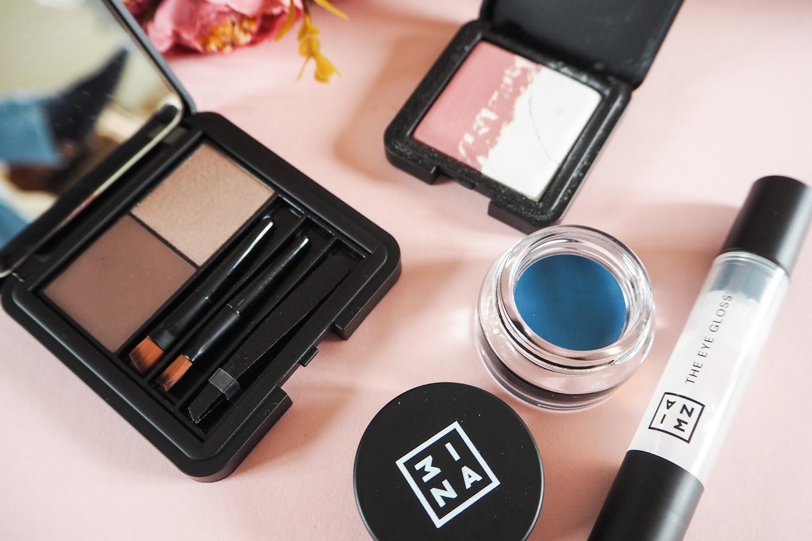 3INA Eye Gloss, Eyebrow Kit, Duo Eyeshadow and Gel Eyeliner Review