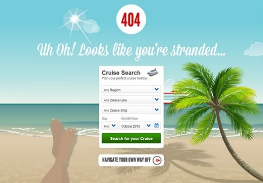 404 Pages: What's the point?