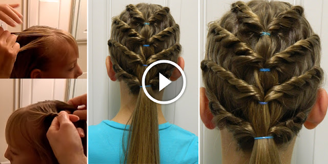 Learn - How To Create Four Layered Hairstyle, See Tutorial