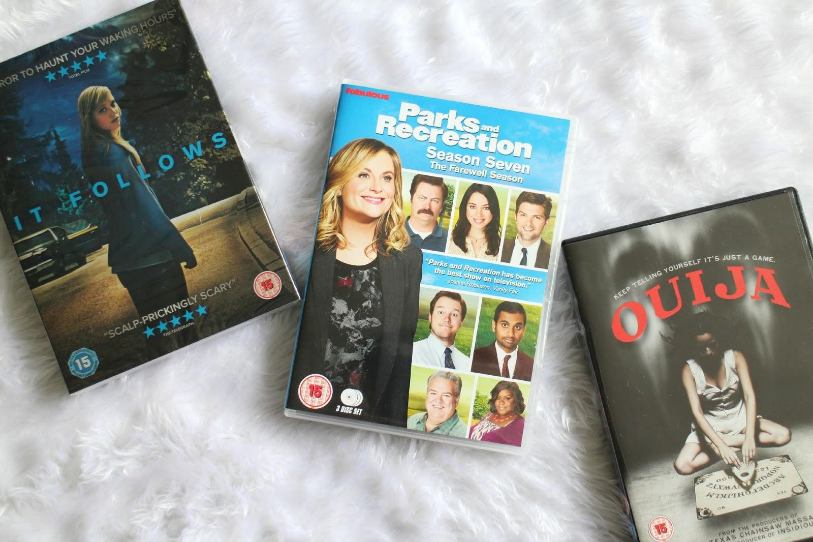 Amazon DVD Haul 2015