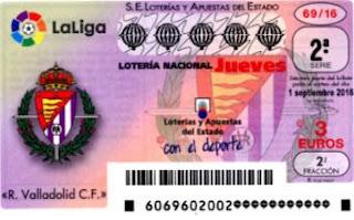 loteria nacional valladolid 1 septiembre