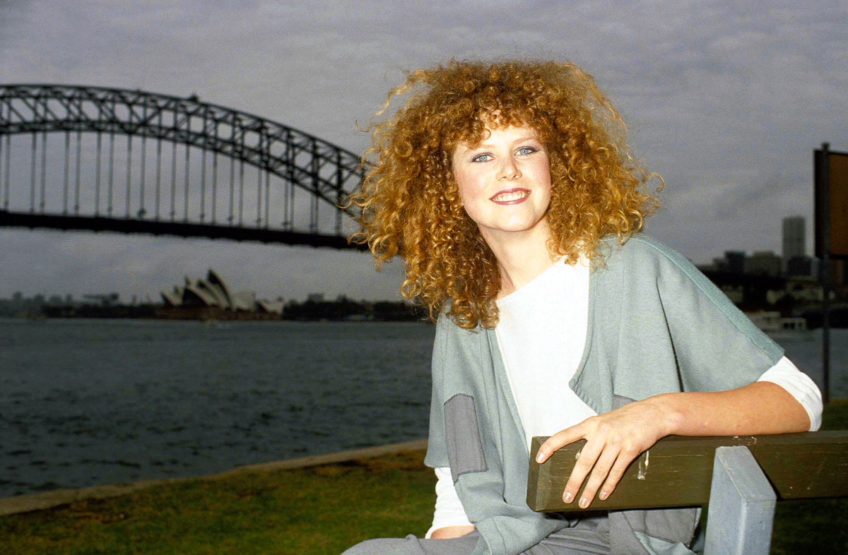 Rare Photographs of 16-Year-Old Nicole Kidman in Sydney