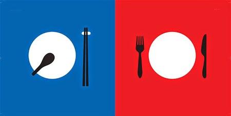 23 sự khác nhau giữa Phương Đông và Phương Tây