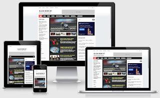 Template Blog Keren, SEO Friendly, Responsive untuk Blog Berita