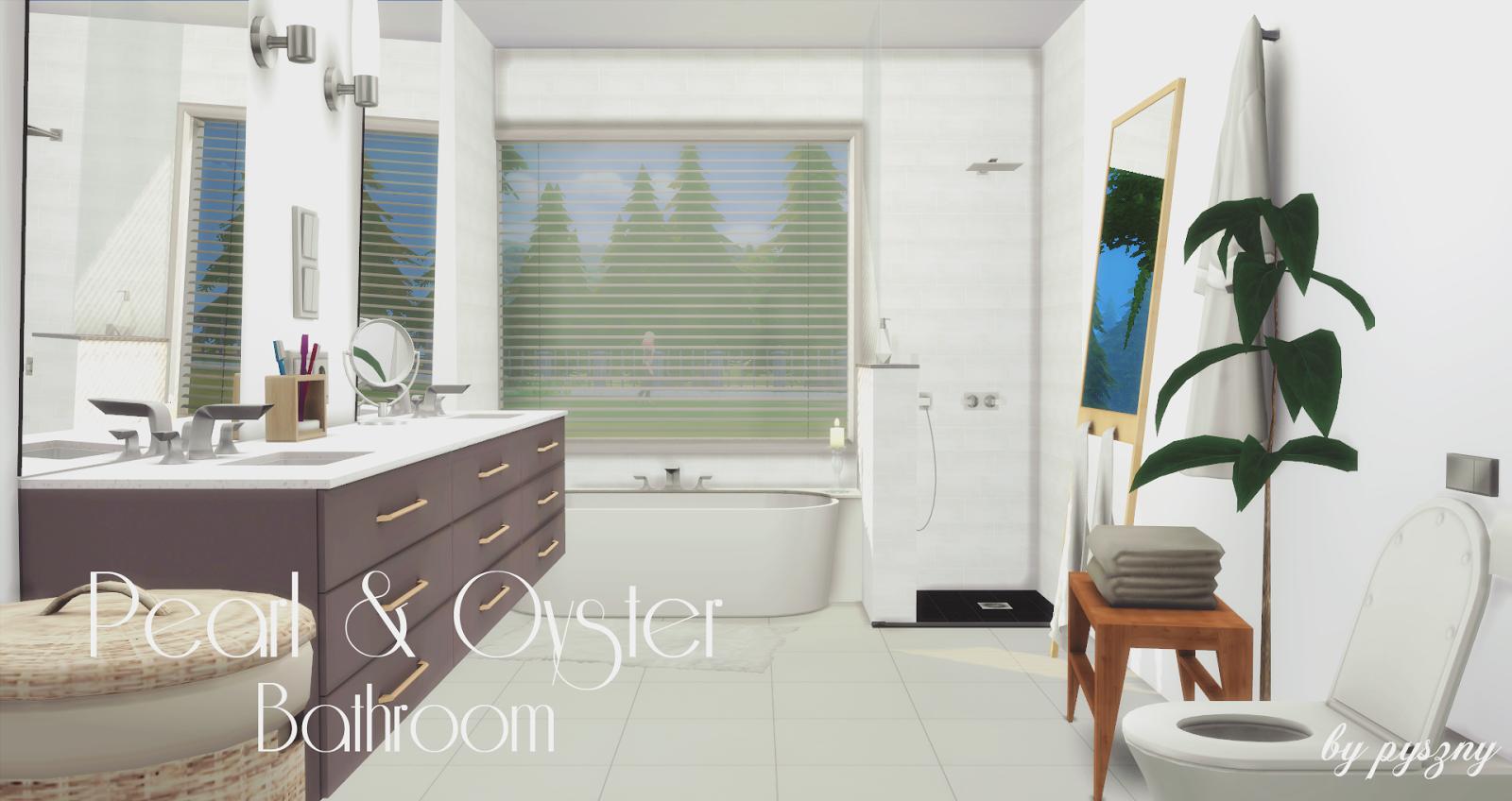 Peral & Oyster Bathroom *NEW SET* on l.a. design, setzer design, berserk design, blue sky design, pi design, ns design, er design, color design, dy design, dj design,