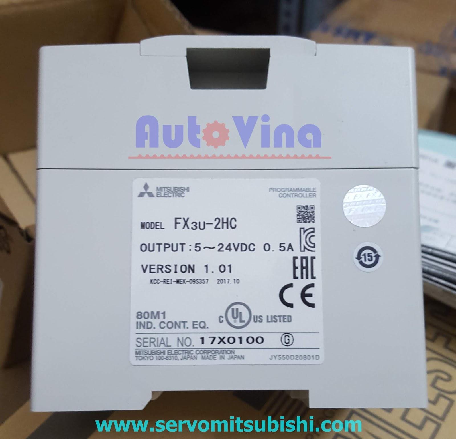 Module mở rộng bộ đếm tốc độ cao cho PLC Mitsubishi FX3U-2HC