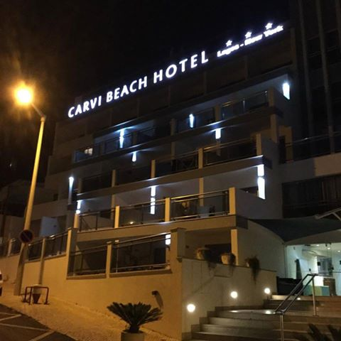 Carvi Beach Hotel, Praia Dona Ana, Lagos.