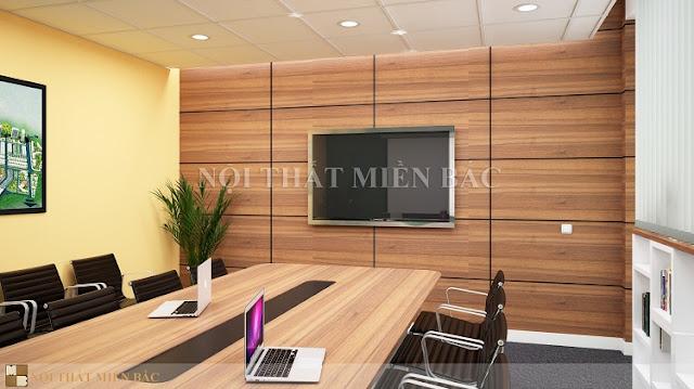 Thiết kế nội thất phòng họp với những điểm nhấn trang trí tinh tế