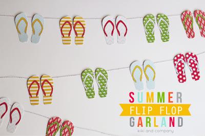 http://bloomdesignsonline.com/2015/07/summer-flip-flop-garland.html