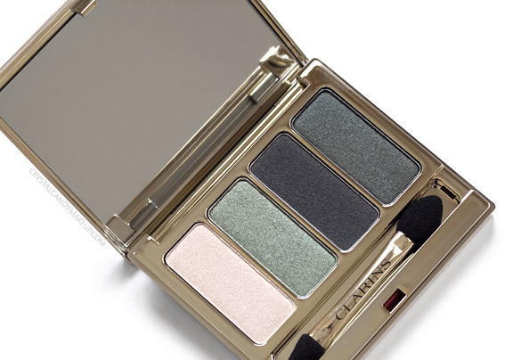 Clarins 4 Colour Eyeshadow Palette 06 Forest Review Fall 2017