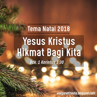 Tema Natal Nasional PGI KWI 2018