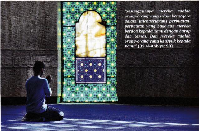 Seorang Muslim yang sedang Berdo'a