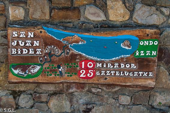 Mapa a Gastelugatxe. Una ermita en el mar, San Juan de Gastelugatxe