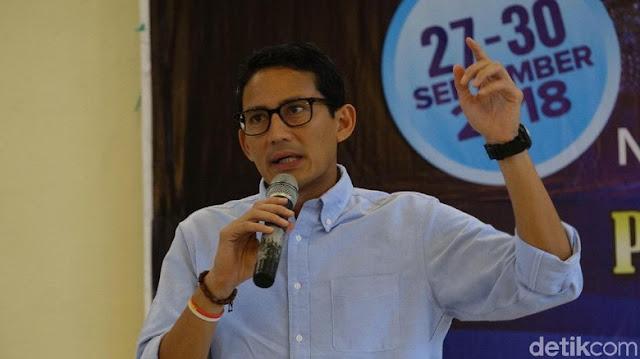 Sandiga Uno akan Laporkan Ratna Sarumpaet yang Ternyata Berbohong