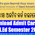 NIOS D.El.Ed: Download Admit Card (REG/BACK) For Semester 2 of 504, 505 (All India)