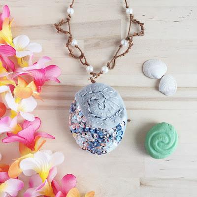 moana heart of te fiti inspired necklace tutorial