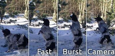 ถ่ายรูปฉับไวด้วย Fast Burst Camera