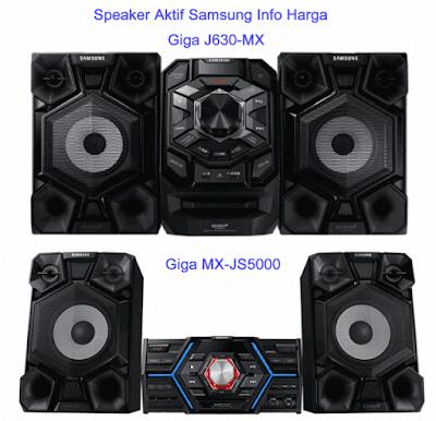 Harga Speaker Aktif