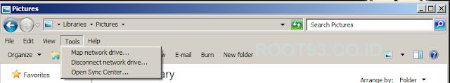 folder options sudah menghilang dari menu tools