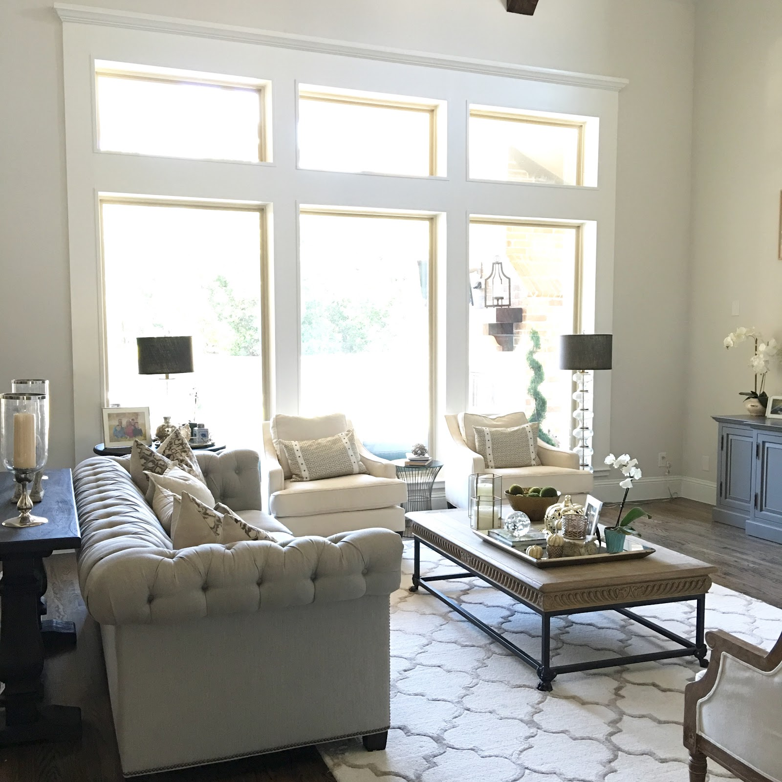 Classic Style Home: Living Room Update Progress