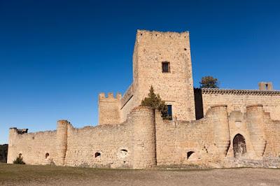 El Castillo de Pedraza en Segovia, viajes y turismo
