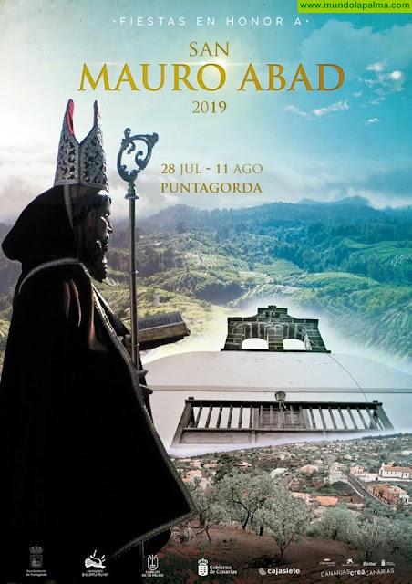 Fiestas en honor a San Mauro Abad 2019 en Puntagorda - Programa