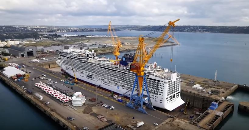 Norwegian Epic refit