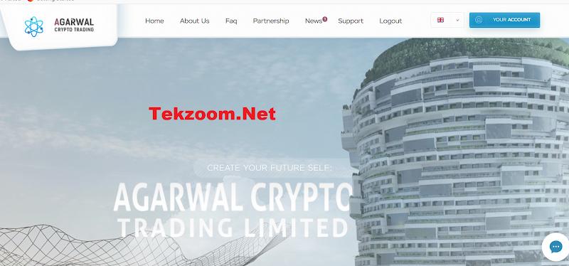 [SCAM] Review Hyip AgarwalCrypto.Com - Lãi từ 1.5% hằng ngày - Thanh toán tức thì