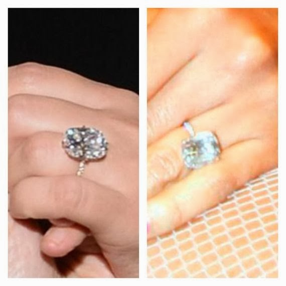 Kim Ks Ring On The Left And Alexis Right Identical