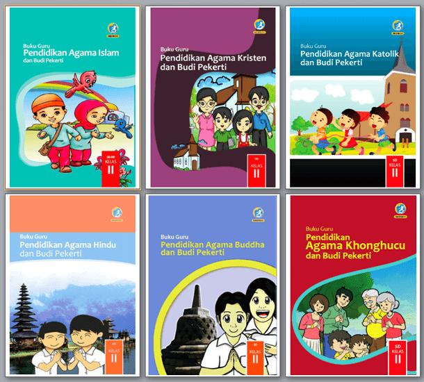 Buku Pendidikan Agama Kelas II (2) SD Kurikulum 2013 Revisi 2017