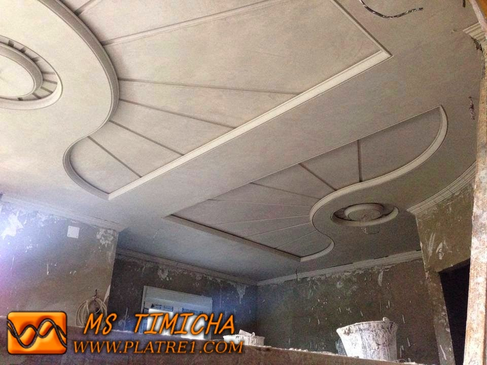 Decoration platre plafond - Decoration platre couloir ...