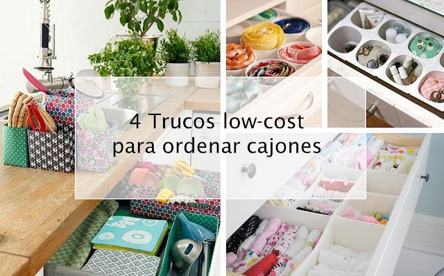 4 trucos low cost para ordenar cajones decoraci n for Organizar cajones cocina