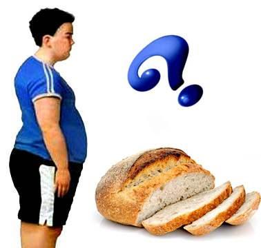 pan blanco engorda