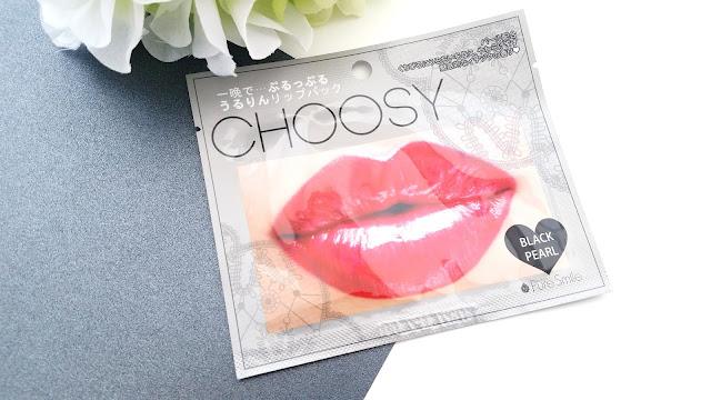 Choosy Black Pearl Lip Mask