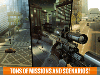 Download Sniper 3D Assassin MOD APK v2.0 Infinite Ammo Terbaru Gratis 2017