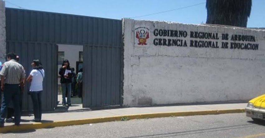 GRE Arequipa advierte que huelga de SUTEBA sería ilegal