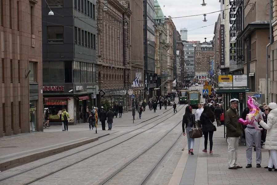 アレクサンドル通り(Alekusanterinkatu)