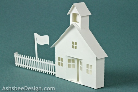 This Tutorial Is For The School House Although The Building Construction Is Very Similar To The Other Buildings In The Village The Addition Of The Bell